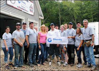 Sikorsky Supports Building Homes for Heroes