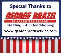 Thank you George Brazil for Donating the installation of the HVAC Equipment