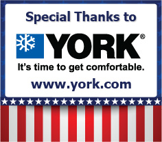 Thank you YORK for Donating the HVAC Equipment